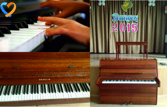 Piano for boarding school №93
