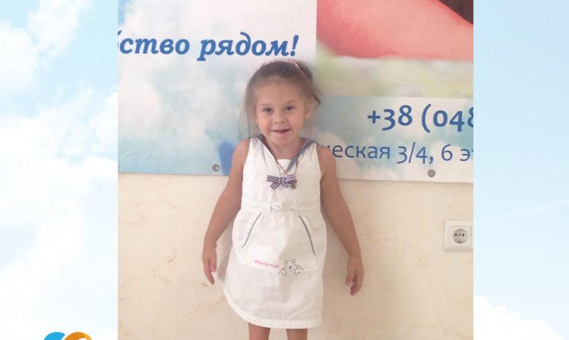 Nastya is getting better!
