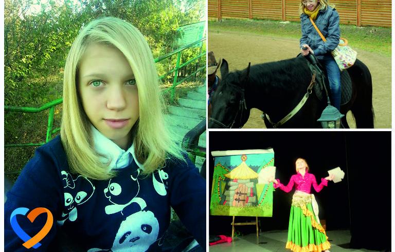 Допомога талантам. Ліза Тимошенко