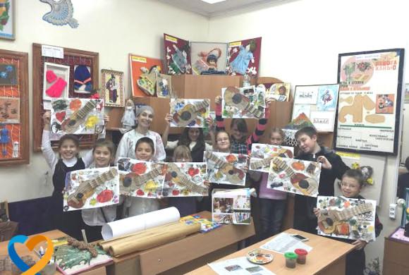 Акція «Kids Art Support». майстер-клас «Малюємо як генії»