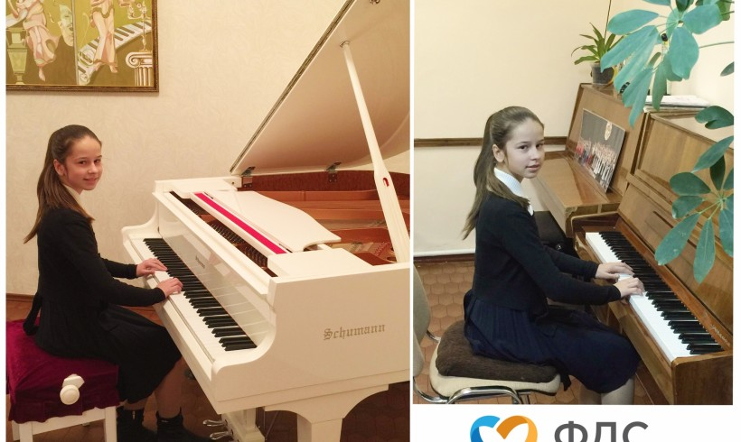 Допомога талантам. Вірочка Губіна (12 років)