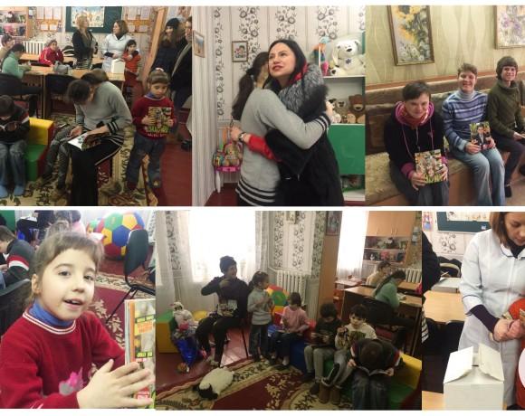 Фото и сувениры для воспитанниц дома-интерната (Макаренко,20)
