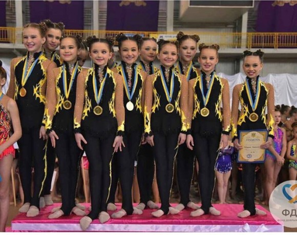 Победители Чемпионата Украины!