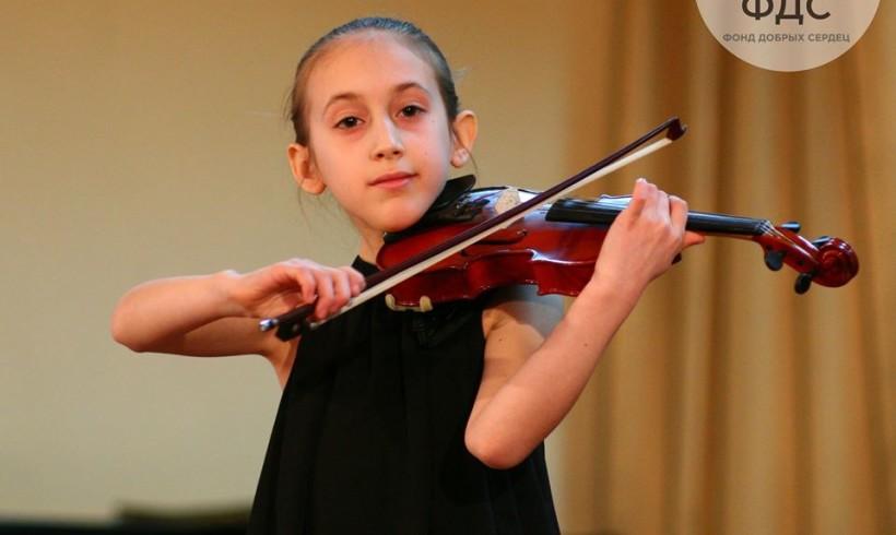 Знакомьтесь – скрипачка Лана Герасименко